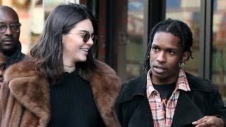 Kendall Jenner REUNITES With A$AP Rocky In Paris