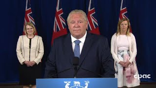 Ontario Covid-19 Update: Premier Doug Ford On Extension Of Emergency Measures –july 7, 2020