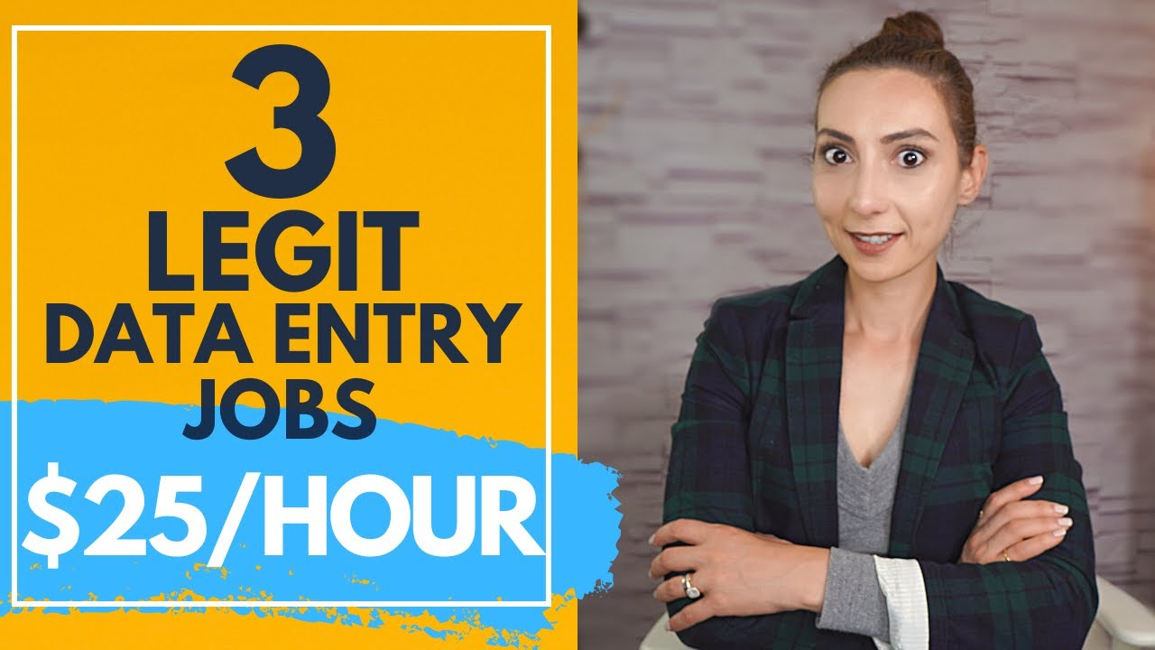 3 Data entry jobs from home that actually pay well (Part 2)