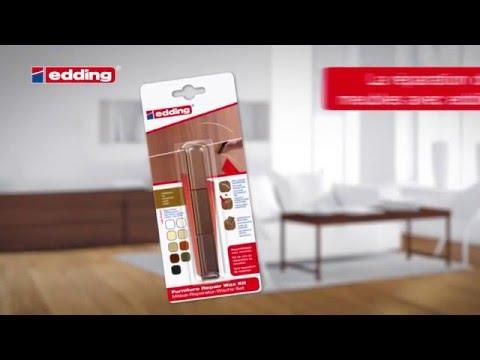 r parer un meuble en bois avec le kit de cire edding youtube. Black Bedroom Furniture Sets. Home Design Ideas