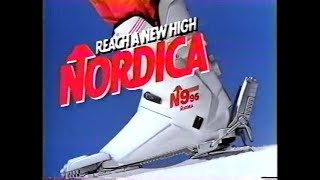 Nordica N9 Ski Clothing 80s Commercial (1989)