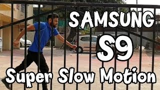 Samsung Galaxy S9 | S9+ Super Slow-Motion Video || By Online Tricks and Offers.