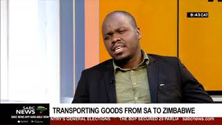 Transporting of goods from SA to Zimbabwe under the spotlight