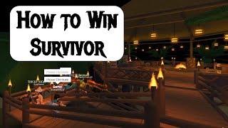 How to Win Roblox Survivor