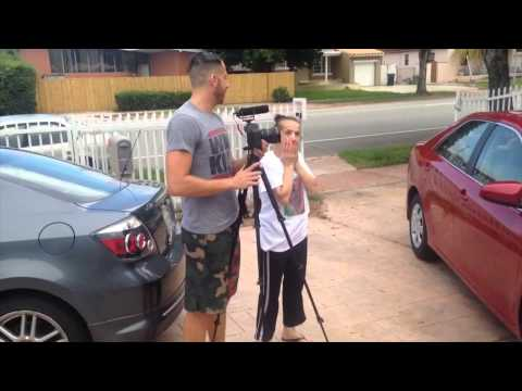 Son Surprises Hard Working Mom With Her Dream Car