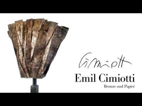 Emil Cimiotti Bronze und Papier | Die Ausstellung als Film