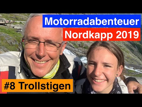 #8 Nordkapp 🇳🇴- Motorradabenteuer 2019 - Atlantikstrasse, Trollstigen und Tourkoller