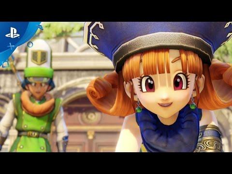 DRAGON QUEST HEROES II - Meet the Heroes, Part VII: Alena, Kiryl & Torneko   PS4