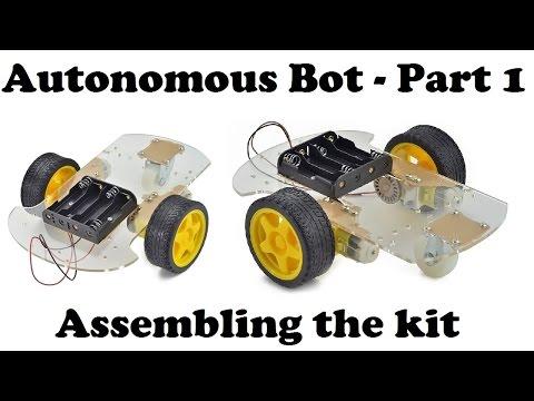 Arduino Bot #1 - assembling the autonomous robot kit