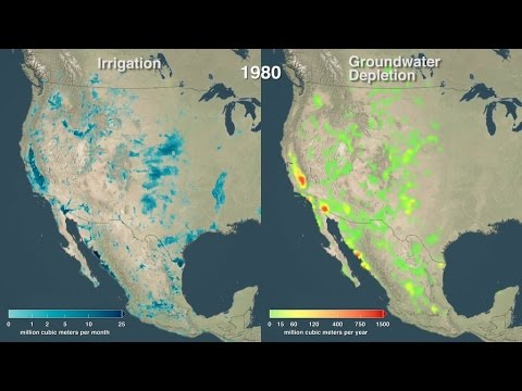 Crop Irrigation Is Closely Tied to Groundwater Depletion Around the World