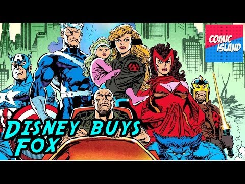The Mouse Eats the Fox - How Disney got The Fantastic Four and the X-Men