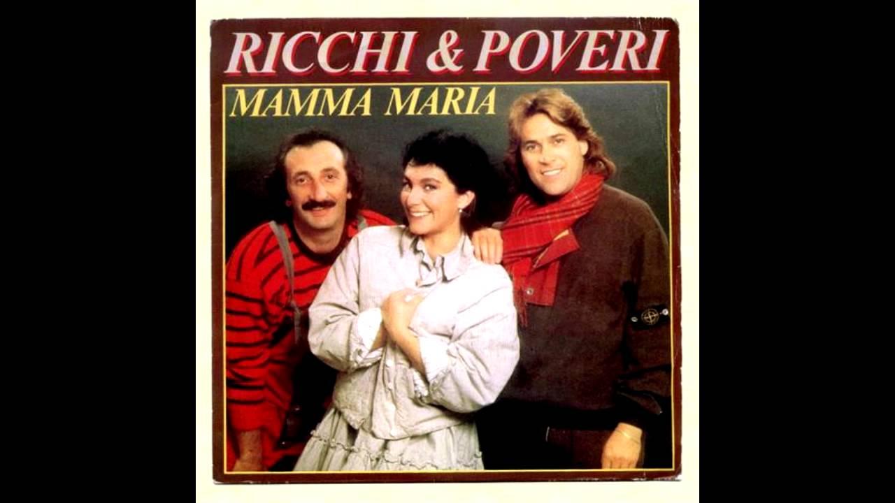 Ricchi e Poveri - Mamma Maria (lyrics)