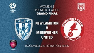 2019 Herald WPL Grand Final 1st Grade - New Lambton FC v Merewether United FC