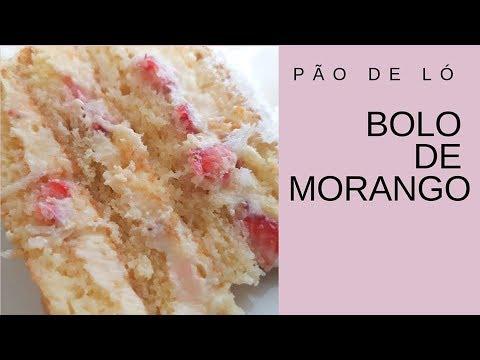 BOLO DE MORANGO