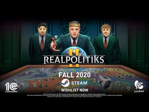 Realpolitiks 2 - Announcement Trailer. Grand Strategy Game By Jujubee, Published By 1C Entertainment
