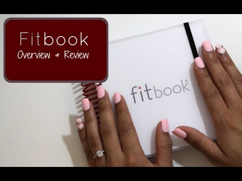 """Fitness and Nutrition Journal """"Fitbook"""