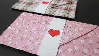 Diy #29 | Envelope Love Letter ♥