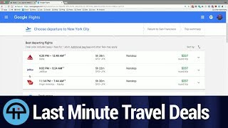 Finding Last Minute Travel Deals