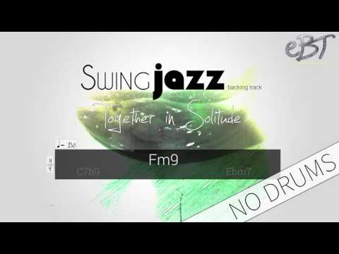Swing Jazz Backing Track in F Minor | 130 bpm [NO DRUMS]