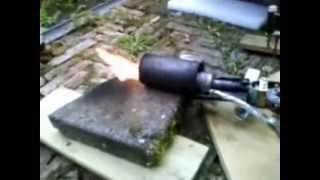 Wasbenzine brander probleem na schoonmaken 23 april 2013