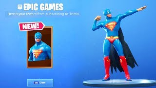 HOW TO GET THE SUPERMAN SKIN IN FORTNITE..!! SUPERMAN SKIN SHOWCASE WITH ALL DANCES & NEW EMOTES!