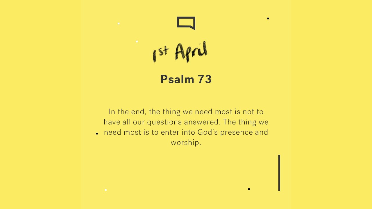 Daily devotions // Psalm 73 Cover Image