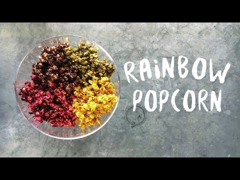 Healthy popcorn recipe | Four Flavours How to make