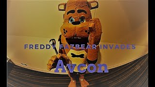 Gambar cover Freddy Fazbear Invades Avcon