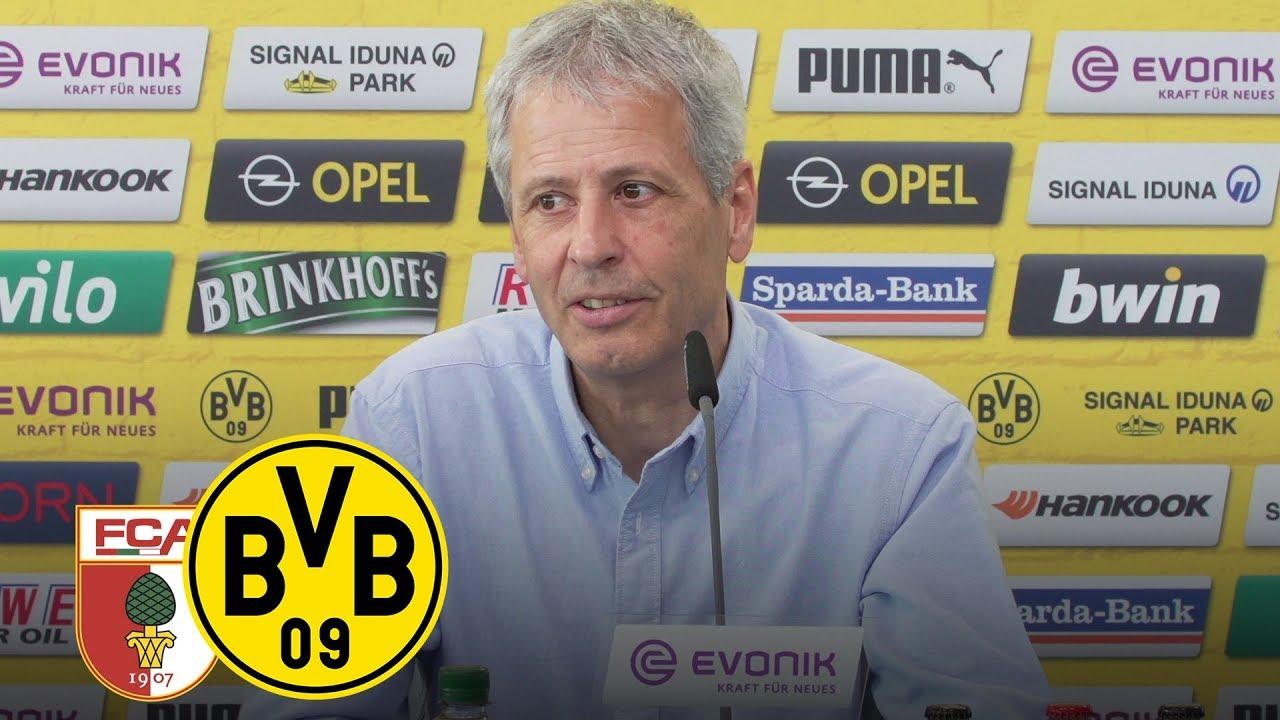 Update zum Zustand von Marco Reus | PK mit Favre | FC Augsburg - BVB