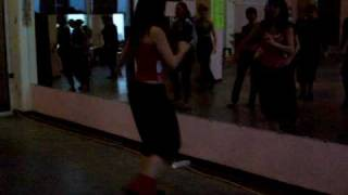 Урок пластики. Самба. Школа танцев Киев Латино.