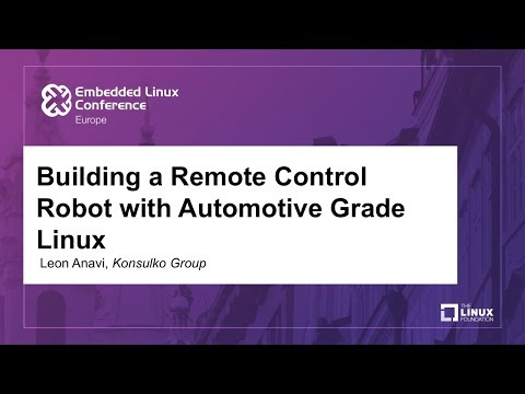 Building a Remote Control Robot with Automotive Grade Linux