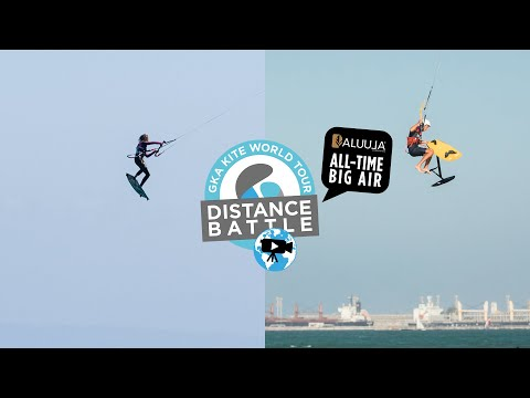 The GKA Distance Battle – Aluula All-Time Big Air   Twintip Women and Hydrofoil Freestyle