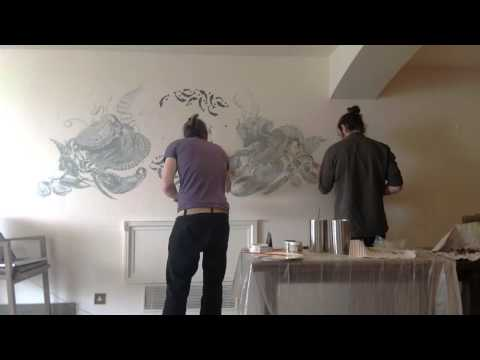 CHIBA CREATIVE - Ocean Mural