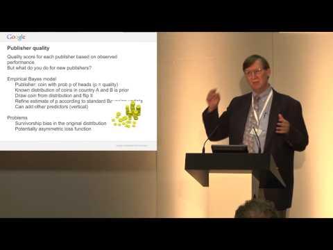 Hal Varian at RSS 2012 Conference: Statistics at Google