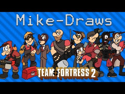 Mike-Draws: TF2 special
