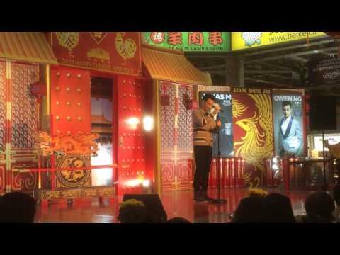 Chinese-canadian star singer Jonas interprets a bossa nova arrangement