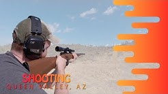 SHOOTING GUNS IN QUEEN VALLEY, ARIZONA
