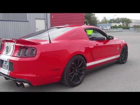 Ford Mustang Shelby GT500 SuperSnake 850ch échapement Borla !!! Sound !!