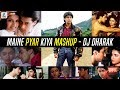 Maine Pyar Kiya Mashup | DJ Dharak | Salman Khan | Bhagyashree | Super Hit Romantic Song