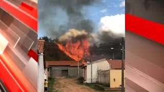 PEDREIRAS: Mais um incêndio próximo ao bairro Maria Rita.