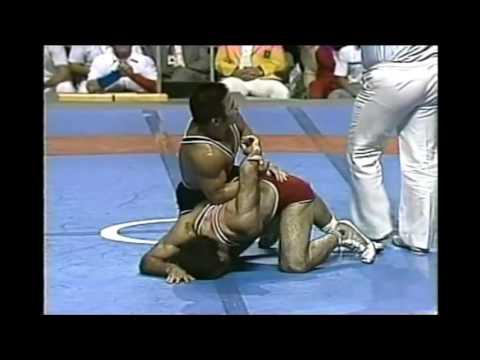Jiichiro Date (JPN) - Mansour Barzegar (IRN)  74 kg.Final. 1976 Montreal Olympic