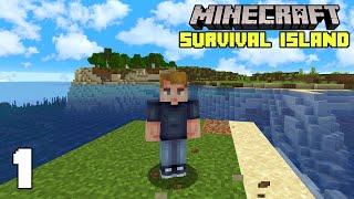 Minecraft: A New Adventure!   Surטival Island 1.17