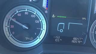 Daf Xf Truck acceleration 0-90 km/h