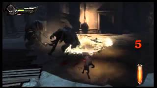 vuclip God of War Ascension   Chap 5 The Village of Kirra Elephantaur Intro Scene, Juggernaut Kill PS3