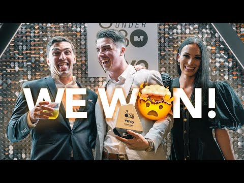 30 under 30 Entrepreneur Of The Year | Vlog