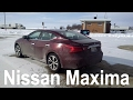 2017 Nissan Maxima SV Car Review and Test Drive