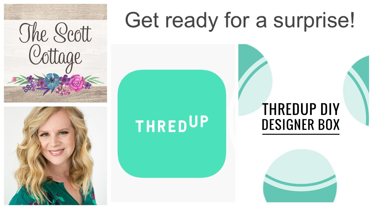 Thredup Diy Designer Rescue Box Mystery Unboxing Resell On Poshmark And Mercari Life Of Resell Youtube