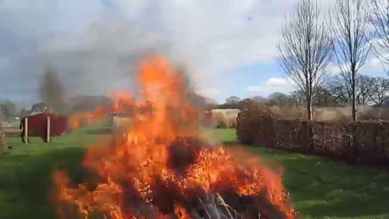 Sussex Prairie Garden Fire