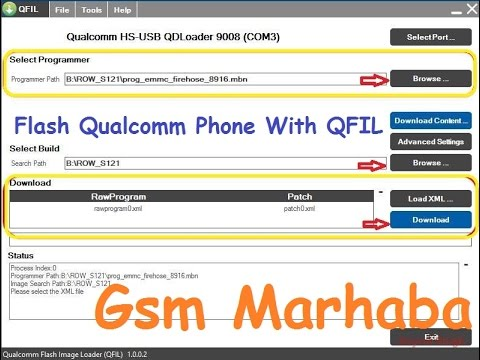 How To Flash Qualcomm Phones With QFIL Qualcomm Flash Tool