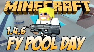 Minecraft 1.5 Mapa de CS (Fy Pool Day)